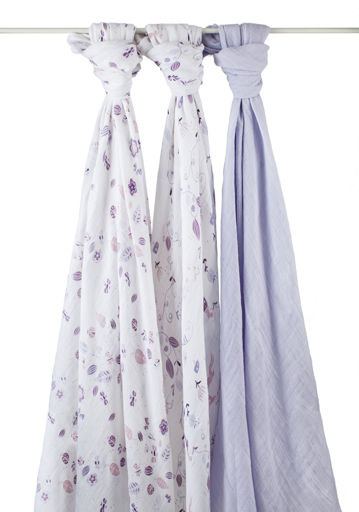 aden and anais organic swaddle blanket - once upon a time