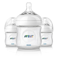 Philips AVENT Natural Bottle (4oz/125mL) - Improved Design