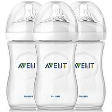 Philips AVENT Natural Bottle (9oz/260ml) - Improved Design