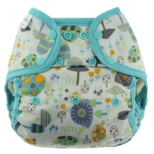 Blueberry Capri Diaper Covers - Snap