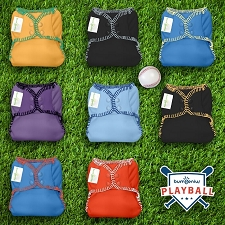Playball LIMITED EDITION - bumGenius Freetime Diaper