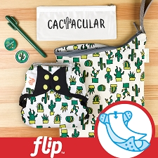 MONTH #4 - CACTacular Flip Diaper Cover Set