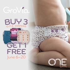 GroVia O.N.E. Cloth Diapers - BUY 3 GET 1 FREE