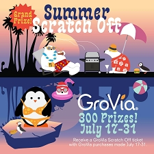 WIN YOUR PRIZE! - GroVia Scratch Off Tickets