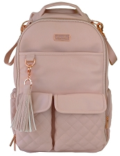 Itzy Ritzy Boss Diaper Bag BackPack - Blush