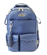 PREORDER : Itzy Ritzy Boss Diaper Bag BackPack - Navy Gingham