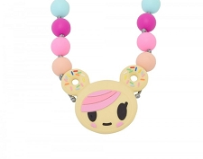 Itzy Ritzy Teething Happens Chewable Mom Jewelry - Tokidoki Donutella