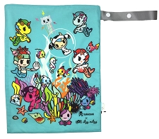 Itzy Ritzy Travel Happens Wet Bag with Handle - Tokidoki Underwater Adventure