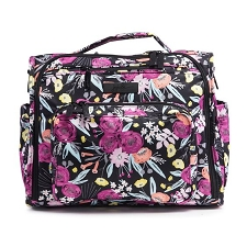 Ju Ju Be BFF Diaper Bag - Onyx The Black and Bloom