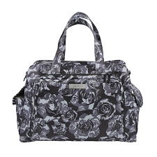 Ju Ju Be Be Prepared Diaper Bag - Onyx The Black Petals