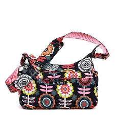 Ju Ju Be Hobobe Diaper Bag - Dancing Dahlias