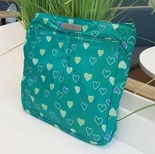 Ju Ju Be Be Light Diaper Bag - Emerald Hearts