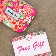 Ju Ju Be FREE Gift with Purchase (NOT eligible on items purchased at a discounted price)
