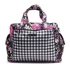 Ju Ju Be Be Prepared Diaper Bag - Onyx The Gingham Bloom