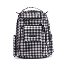 Ju Ju Be Be Right Back Diaper Bag - Onyx The Gingham Style