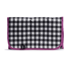 Ju Ju Be Memory Foam Changing Pad - Onyx The Gingham Style