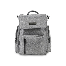 Ju Ju Be Be Sporty Diaper Bag - Gray Matter