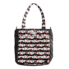 Ju Ju Be Be Light Diaper Bag - Hello Kitty Dots & Stripes