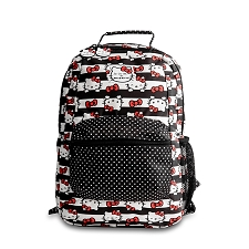 Ju Ju Be Be Packed Diaper Bag - Hello Kitty Dots & Stripes
