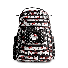 Ju Ju Be Be Right Back Diaper Bag - Hello Kitty Dots & Stripes