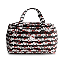 Ju Ju Be Starlet Diaper Bag - Hello Kitty Dots & Stripes