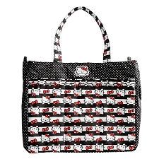 Ju Ju Be Super Be Diaper Bag - Hello Kitty Dots & Stripes