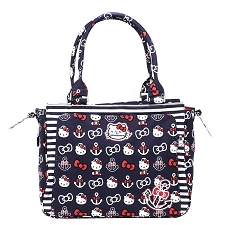 Ju Ju Be Be Classy Diaper Bag - Hello Kitty Out to Sea