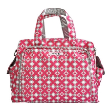 Ju Ju Be Be Prepared Diaper Bag - Pink Pinwheels
