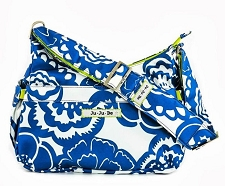 Ju Ju Be Hobobe Diaper Bag - Cobalt Blossoms