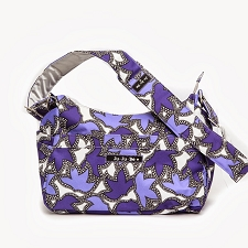 Ju Ju Be Hobobe Diaper Bag - Lilac Lace