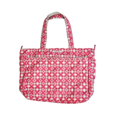 Ju Ju Be Super Be Diaper Bag - Pink Pinwheels