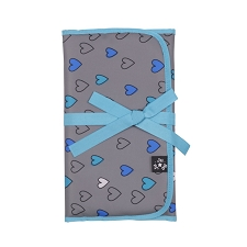 Ju Ju Be Memory Foam Changing Pad - Rad Hearts