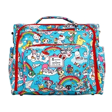 Ju Ju Be BFF Diaper Bag - Tokidoki x Hello Kitty Rainbow Dreams