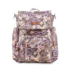 Ju Ju Be Be Sporty Diaper Bag - Sakura at Dusk