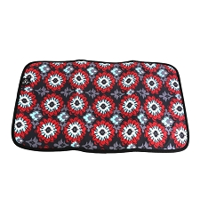 Ju Ju Be Memory Foam Changing Pad - Sweet Scarlet