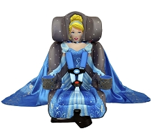 KidsEmbrace Friendship Combination Booster Car Seat - Cinderella Platinum