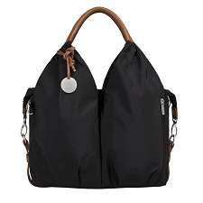 Lassig Glam Signature Diaper Bag - Black