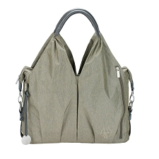 Lassig Green Label Neckline Diaper Bag - Spin Dye - Gold Melange