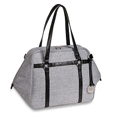 Lassig Green Label Urban Diaper Bag - Black Melange