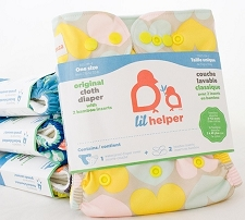 Lil Helper Bamboo Cloth Diaper
