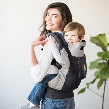 Lillebaby CARRY-ON Toddler Airflow Carrier - Charcoal Silver