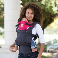 Lillebaby COMPLETE All Seasons Carrier - Charcoal & Berry