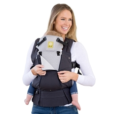 Lillebaby COMPLETE All Seasons Carrier - Charcoal & Silver