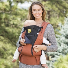 Lillebaby COMPLETE All Seasons Carrier - Sherpa Orange
