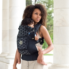 Lillebaby COMPLETE Embossed Carrier - LUXE - Black Diamond