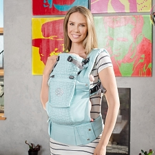 Lillebaby COMPLETE Embossed Carrier - LUXE - I Love You to Pieces
