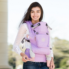 Lillebaby COMPLETE Embossed Carrier - LUXE - Lavender