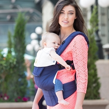 Lillebaby COMPLETE Embossed Carrier - Blue