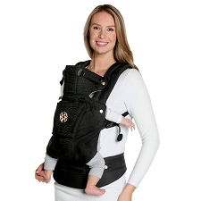 Lillebaby COMPLETE Embossed Carrier - LUXE - Noir