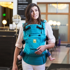 Lillebaby COMPLETE Embossed Carrier - Teal